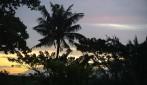 lite solnedgång, sett från balkongen...