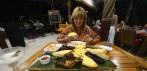 Carina beställde en grillbricka...