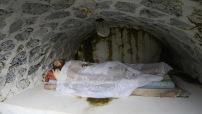människor har letat sen Jesus död efter graven, vi fann den...