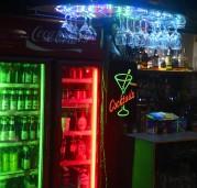 fint ljus i baren...