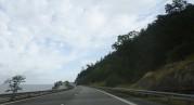 fin motorväg längs med Vättern...