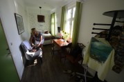 vårat rum, litet men mysigt...