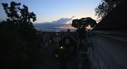 solnedgång från taket...
