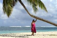 bästa tjejen hänger i palmen...