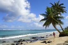 det är så varmt och jobbigt att leva här på stranden...