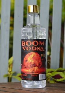 Carina hittade fin vodka hos den lokala handlaren...