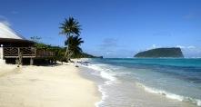 Lalomanu beach...