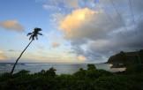 våran strand i morgonljus...