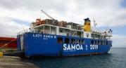 Lady Samoa III, fint skall det vara när vi är ute och reser...
