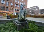 St. Göran och draken... Hötorget...