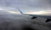 KLM flyger oss denna morgonen...