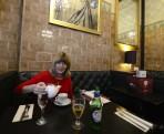 Cup Tea Lounge, äntligen får jag mitt jul the...