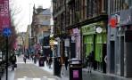 Sauchiehall St. sett åt andra hållet ...