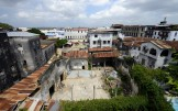 utsikt från vårat hotell tak...