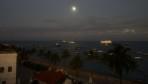 en mycket tidig morgon på vårat hotell tak...