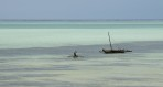 en ensam man i sin båt...