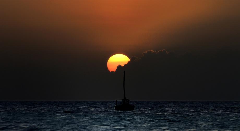 Nungwi, ett paradis för solnedgångsälskare...