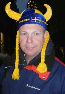 Turistmössa i Stockholm