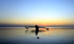 """""""våran"""" båt i solnedgång..."""
