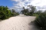 vägen till stranden...