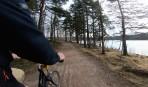 en sväng vid Lilla Delsjön...