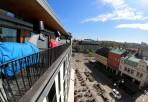 utsikt mot Kungsportsplatsen...