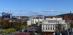 Stora Teatern till höger, Liseberg och Gothia till vänster...