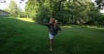 en naturbegåvning inom frisbee golfen...