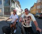cykeltur på stan...