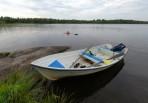 bad i sjön Viren...