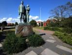 staty från Utvandrarna, Karlshamn...