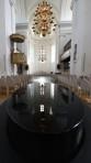vacker vattenspegel i Fredrikskyrkan...
