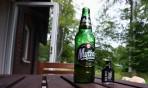 grekiskt öl och Rock Shot, en oslagbar kombo...