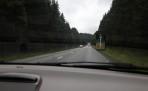 nu åker vi hem, många fartkameror längs vägarna...