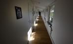 mysig korridor, vi bodde första dörren till vänster...