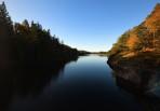 sundet mellan Östersjön och Ellenösjön...