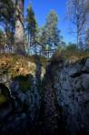Fort 118, Sjöänds skans, Glaskogens naturreservat...
