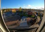 utsikt från vårat fönster...