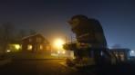 Årjängs Trollet en tidig  dimmig lördagmorgon...