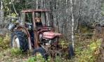 """Carina går """"bananas"""" på en gammal traktor..."""