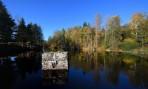 Töcksfors kanal ligger 112 meter över havet och är därmed Sveriges högst belägna kanal som har förbindelse med havet...