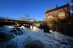För att utnyttja vattenkraften i Tyxforsen grundades Töcksfors Järnbruk redan 1797. Knappt 100 år senare lades det ner och i stället utnyttjades forsen till ett träsliperi...