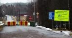 Norska gränsen stängd, bara att vända...