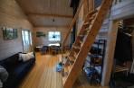trappan upp till loftet...