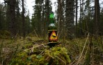 en stund för sig själv, en riktig svensk älg-öl...