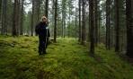ett sött troll i moss-skogen...