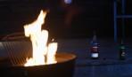 whisky och öl hör till...