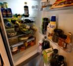 knökat kylskåp...
