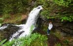 Carina vid Forsemölla vattenfall...