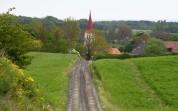 nere till höger ligger Mandelmanns gård som var stängd...
